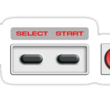 NES Buttons Sticker