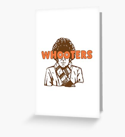 Whooters Greeting Card