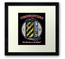 Timebusters Framed Print