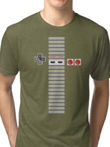 NES Controller Stripe Tri-blend T-Shirt