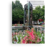 Atlanta Fountain 2 Canvas Print