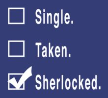 Single. Taken. Sherlocked. by FandomsFriend
