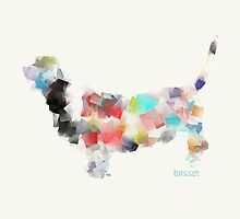 the basset hound modern  by bri-b