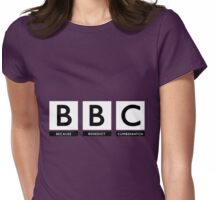 Because Benedict Cumberbatch Womens Fitted T-Shirt