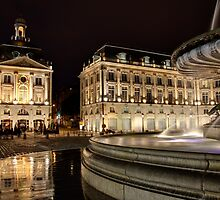 Fountain of the three graces by PhotoBilbo
