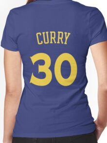 Steph Curry Women's Fitted V-Neck T-Shirt
