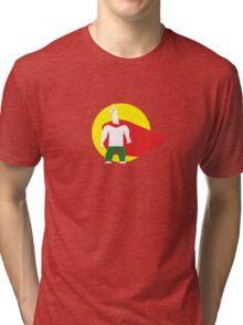 Super Cow Llama Tri-blend T-Shirt