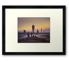 Caspar David Friedrich - The Stages Of Life  Framed Print