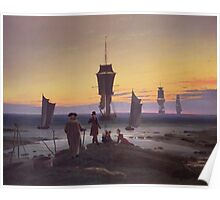 Caspar David Friedrich - The Stages Of Life  Poster