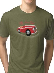 Austin j40 Pedal Car UK  Tri-blend T-Shirt