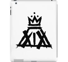 XIX Crown Print (White) iPad Case/Skin
