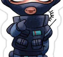 Twitch Chibi Sticker from Rainbow 6 Sticker