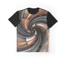 Copper Cone Curl Graphic T-Shirt