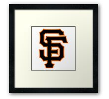 America's Game - San Francisco Giants Framed Print