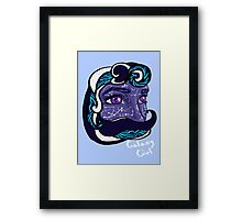 Galaxy Girl Framed Print