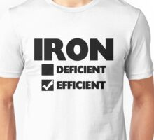 Iron Efficient Unisex T-Shirt