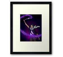 The Protector of Creativity Framed Print