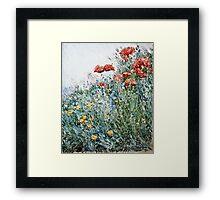 Childe Hassam - Poppies, Appledore  Framed Print