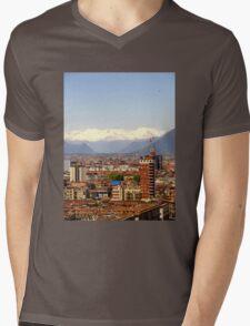 The one skyscraper  Mens V-Neck T-Shirt