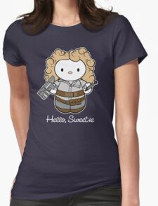 Hello Sweetie Womens Fitted T-Shirt