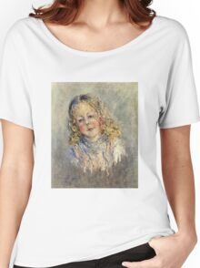 Claude Monet - Andre Lauvray Women's Relaxed Fit T-Shirt