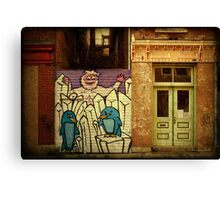 Hidden Door, Boarded Window Canvas Print