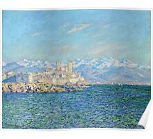 Claude Monet - Antibes Afternoon Effect Poster