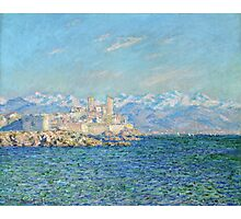 Claude Monet - Antibes Afternoon Effect Photographic Print