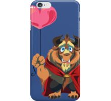lion give you his heart iPhone Case/Skin
