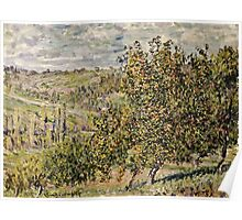 Claude Monet - Apple Blossom  Poster