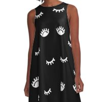 All Eyes On Me A-Line Dress