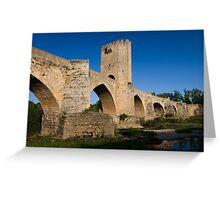 Roman bridge Greeting Card