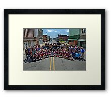 Life Magazine Photo Recreation Framed Print