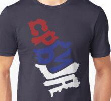 Serbia Typography Unisex T-Shirt
