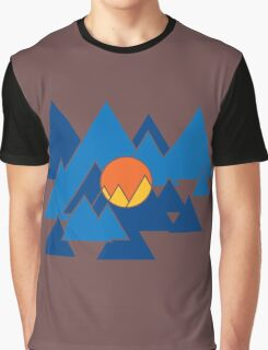Mountain Geo Graphic T-Shirt