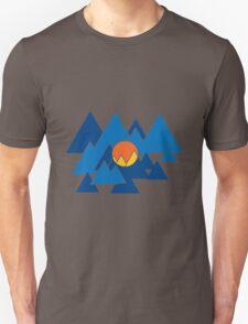 Mountain Geo Unisex T-Shirt