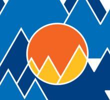Mountain Geo Sticker