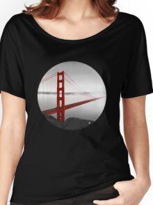 Golden Gate Bridge (Vectorillustration) Women's Relaxed Fit T-Shirt