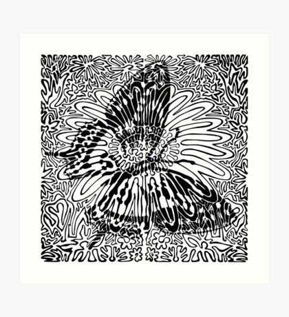 Black Line No. 7 Art Print