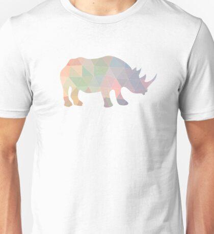 Geometric Rhino Unisex T-Shirt