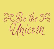 be the unicorn Kids Tee