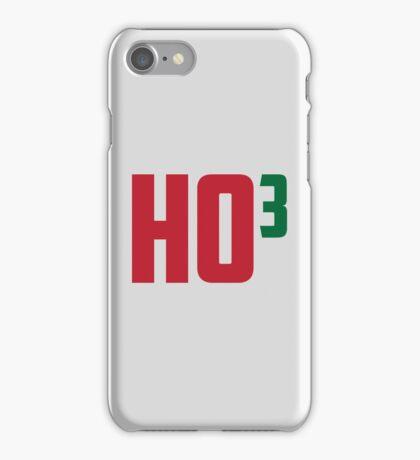 Ho Ho Ho Have A Very Nerdy Christmas iPhone Case/Skin
