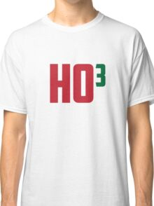 Ho Ho Ho Have A Very Nerdy Christmas Classic T-Shirt