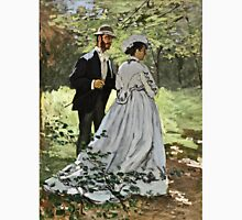 Claude Monet - Bazille And Camille 1865  Unisex T-Shirt