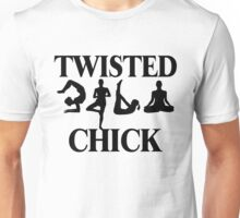 Twisted Yoga Chick Unisex T-Shirt