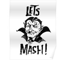 Let's Mash, Dracula Poster