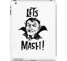 Let's Mash, Dracula iPad Case/Skin