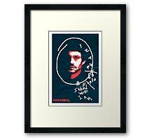 Hannibal - 'I Know Who I Am' poster Framed Print