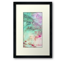 Feathered Space Framed Print