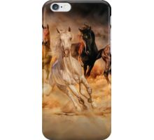 Only dust from under the hooves iPhone Case/Skin